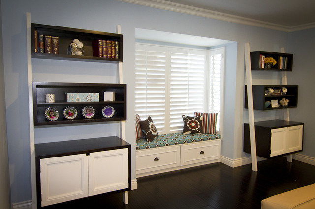 Georgette Westerman Interiors contemporary-family-room
