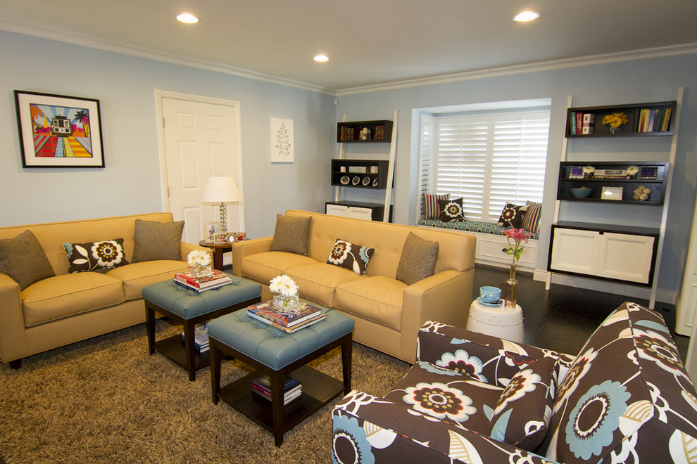 Super Georgette Westerman Interiors Contemporary Family Room Theyellowbook Wood Chair Design Ideas Theyellowbookinfo