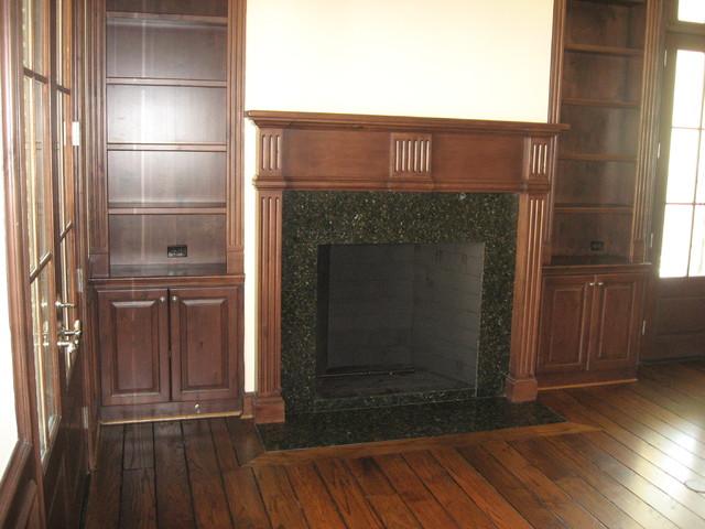 Georgian Row traditional-family-room