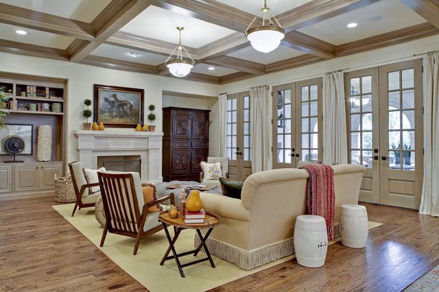 GILLON | family room traditional family room