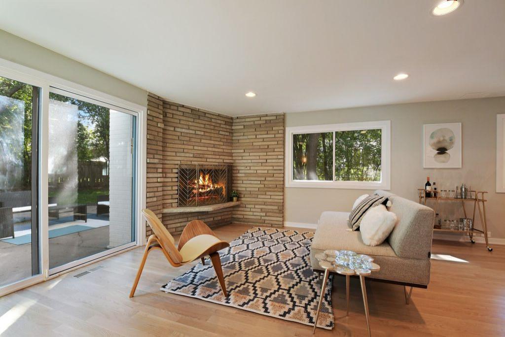 Glencoe - Bedroom addition over existing garage, whole house remodeling
