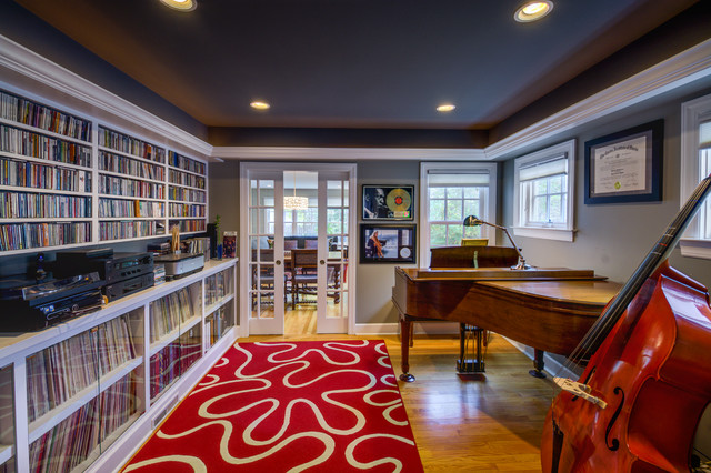 Golden Avenue Addition Traditional Family Room