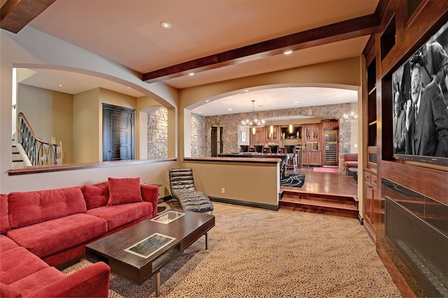 Graham Hill Transitional traditional-family-room