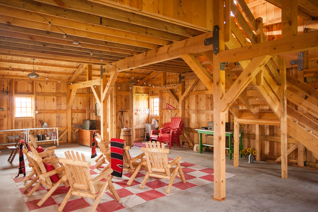 Inspiration For A Rustic Attached Garage Remodel In Other