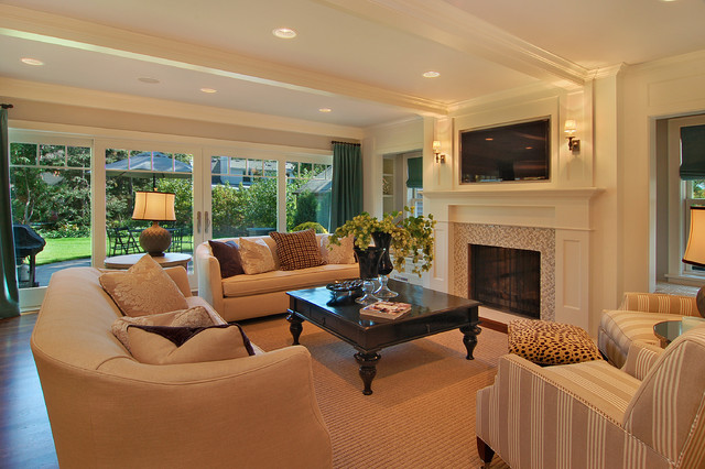 Great Neighborhood Homes traditional-family-room