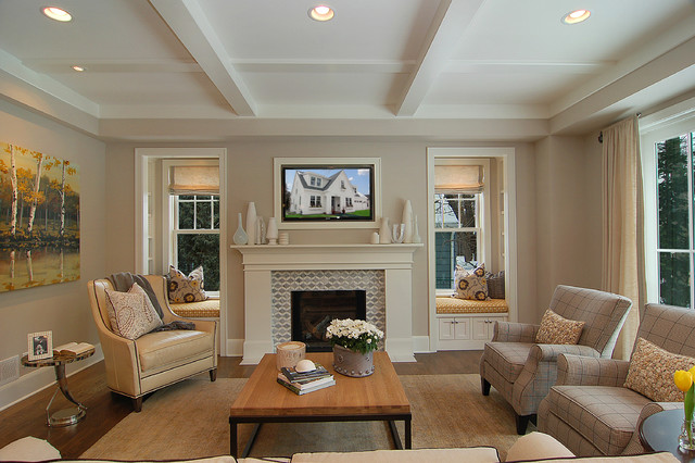 Great neighborhood homes transitional family room for Living room 6 portland