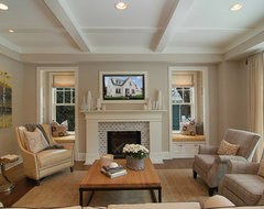 Great Neighborhood Homes transitional-family-room