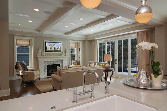 Great Neighborhood Homes transitional-family-room