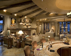 Great room southwestern-family-room