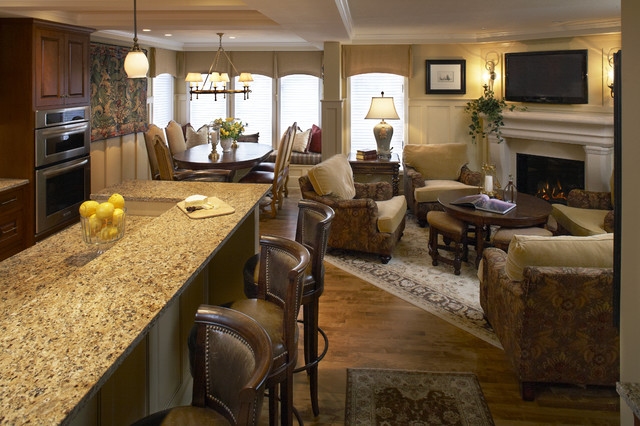 Great room traditional family room minneapolis by for Traditional great room designs