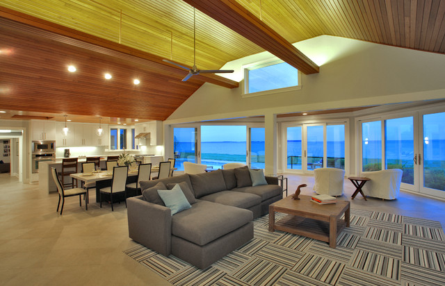 Great room contemporary-family-room