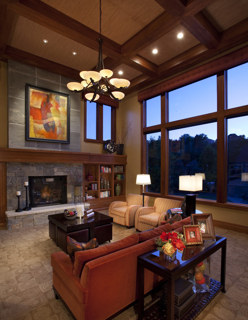 Great Room Modern Family Room Salt Lake City By