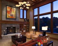 Great Room modern family room