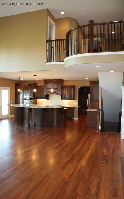 Kitchen Great Room Designs: Great Room Leading To Kitchen