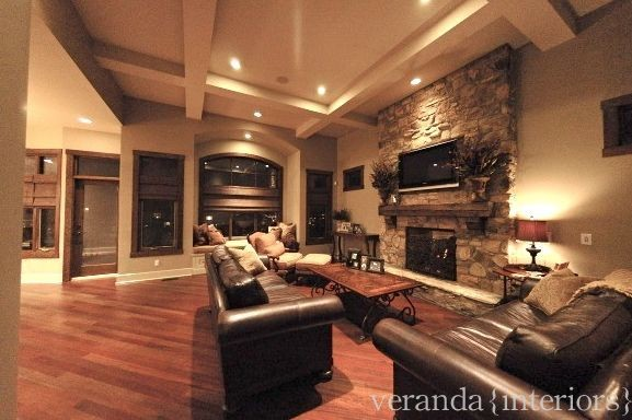 Great room for Great room fireplace