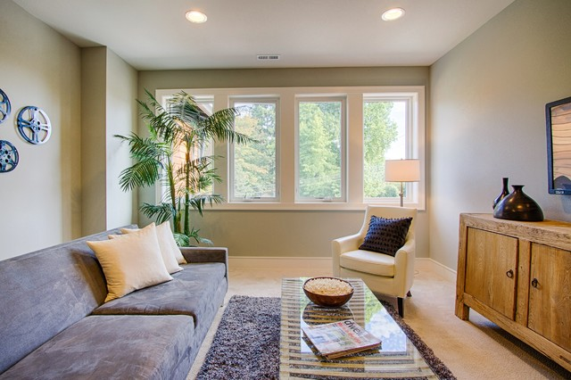Greater seattle area the milan bonus room transitional for Seattle area home builders
