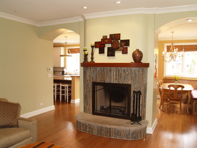 Green Certified Home traditional-family-room