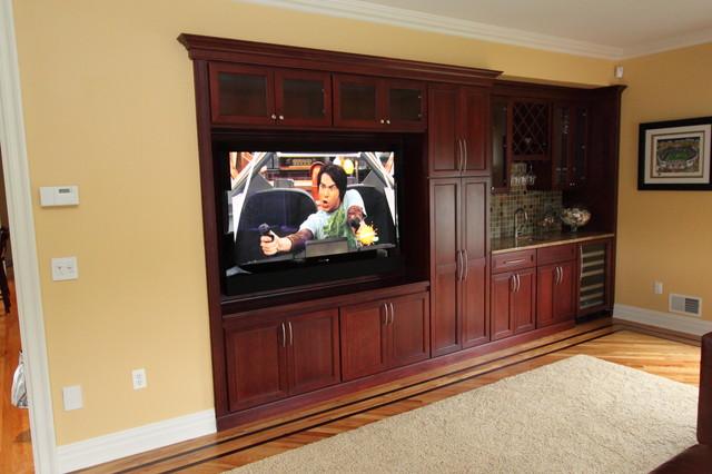 Green Family Room contemporary-family-room