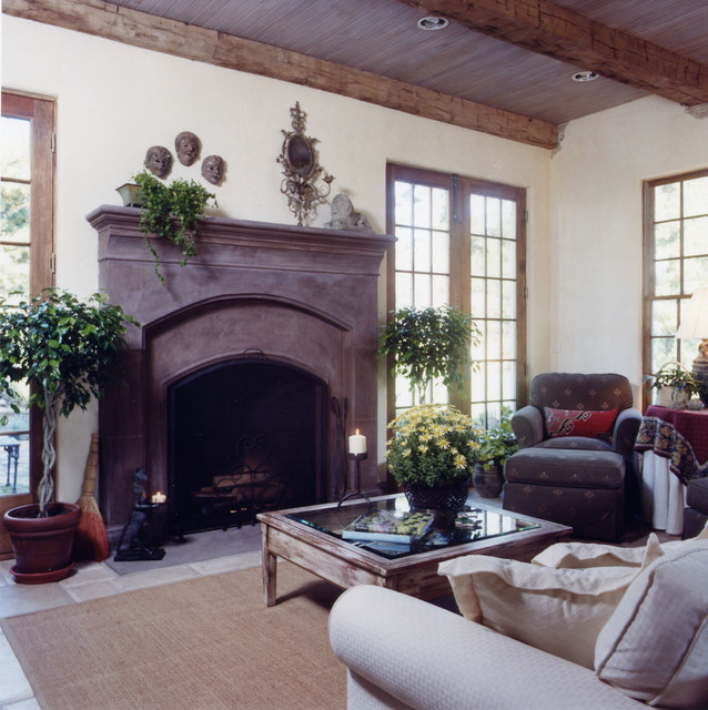 Greenspring Valley-family traditional-family-room