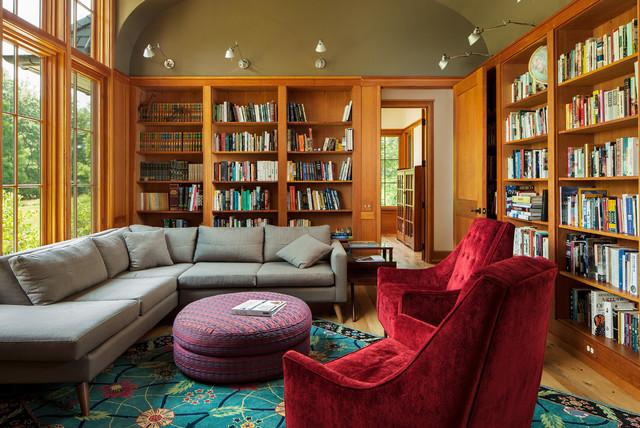 Greenville, DE Residence craftsman-family-room