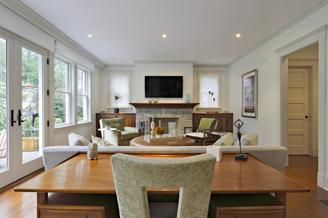 Greenwich, CT contemporary-family-room