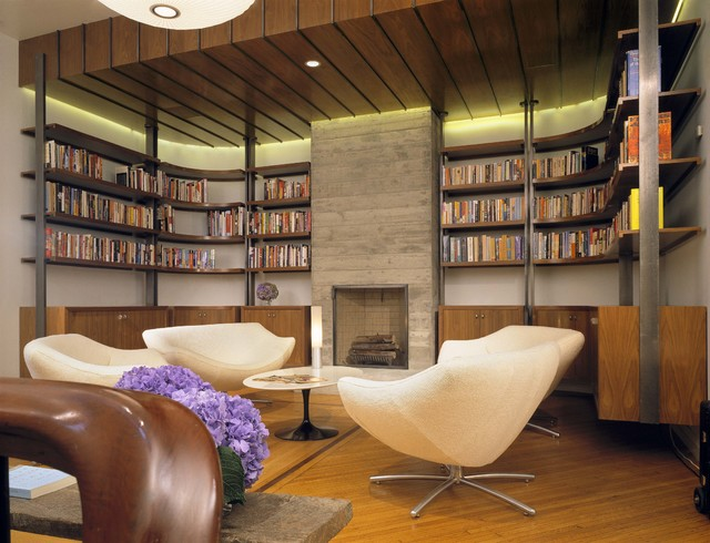 Greenwich Village Townhouse modern-family-room