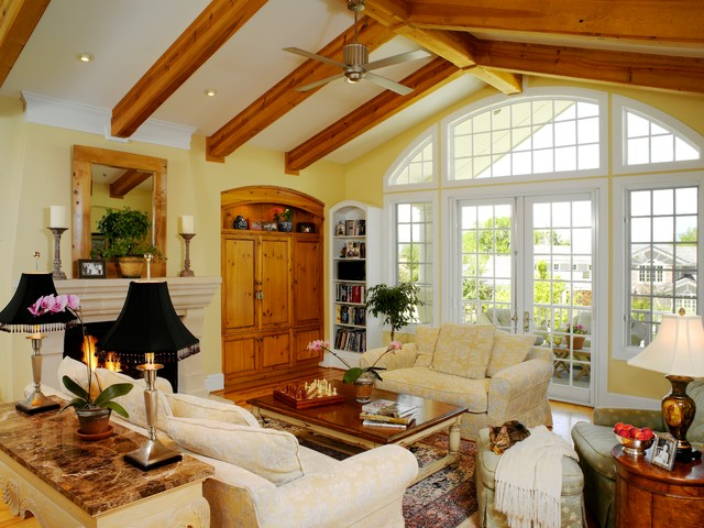 Greenwood Traditional Family Room Denver By Oliver