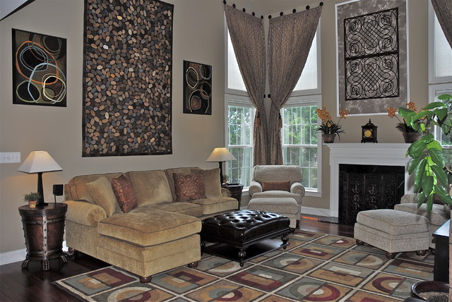 Grownup Family Room eclectic-family-room