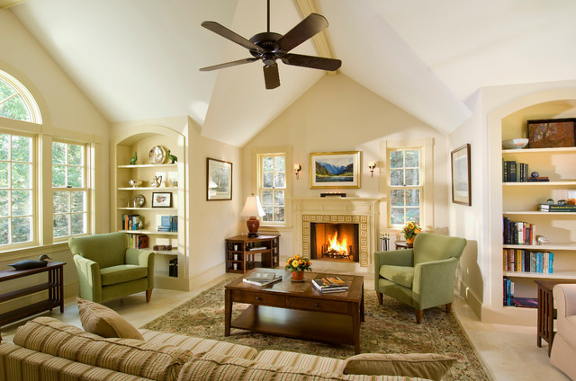Guest house family room addition traditional family for Living room addition plans
