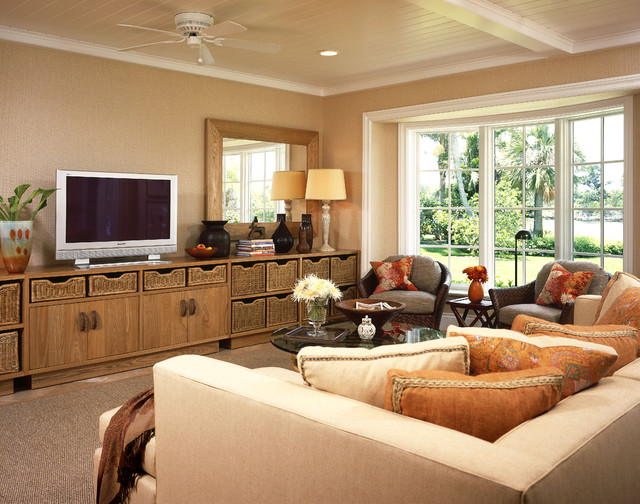 Gulfstream Family Room eclectic-family-room