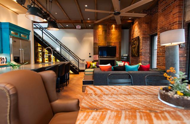 Hamilton eclectic industrial contemporary family for Rooms interior design hamilton