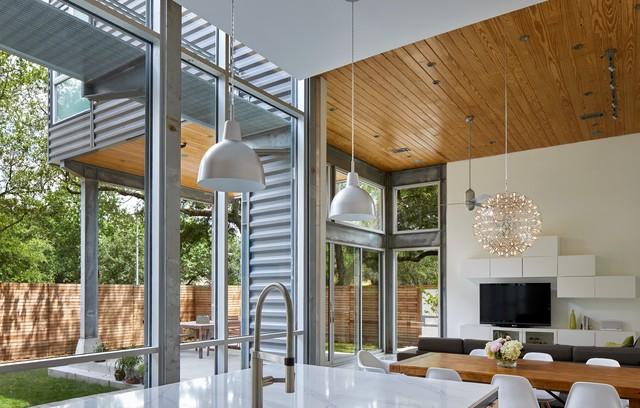 Hammer Residence modern-family-room