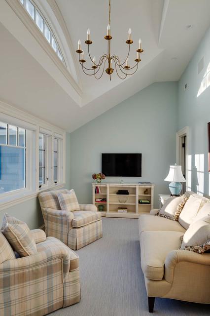 harbor view bord de mer salle de s jour boston par. Black Bedroom Furniture Sets. Home Design Ideas
