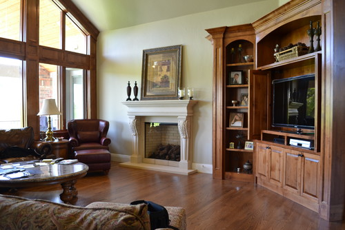 Photo By Distinctive Mantel Designs Inc Browse Traditional Family Room Ideas