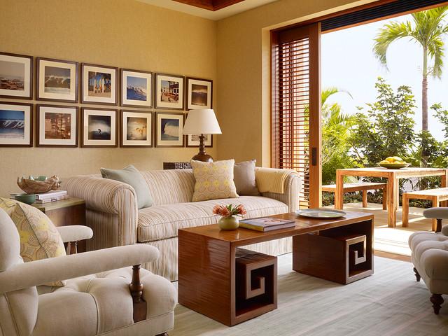 Hawaii Home Kolonialstil Wohnzimmer Von Christine
