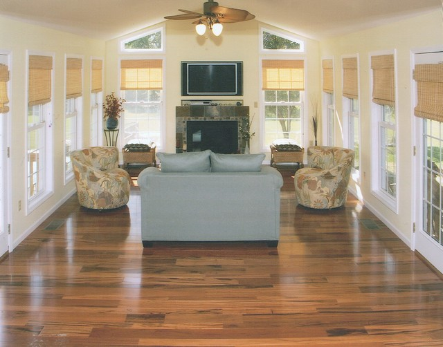 Hearth Room Addition Contemporary Family Room St