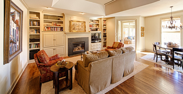 Hearth room traditional family room minneapolis by for Hearth room furniture layout ideas