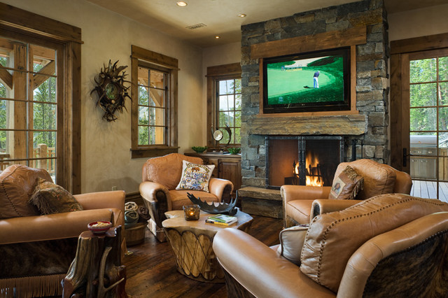 Hearth Room Traditional Family Room Other Metro By