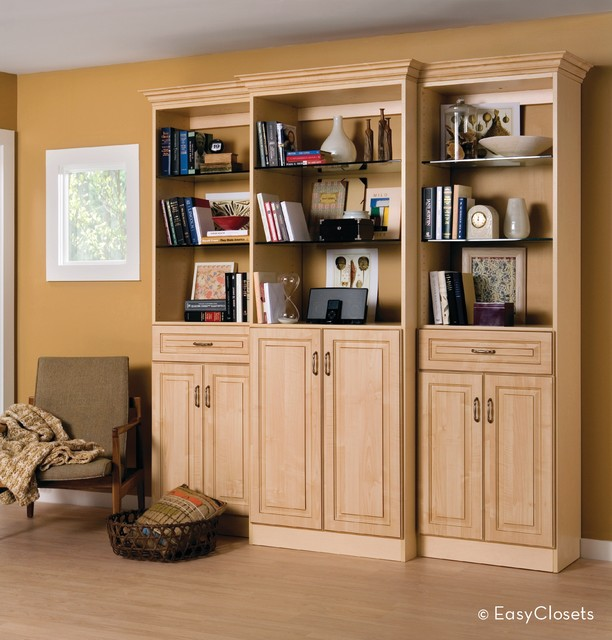 Heritage Maple Wall Unit - grand rapids - by EasyClosets