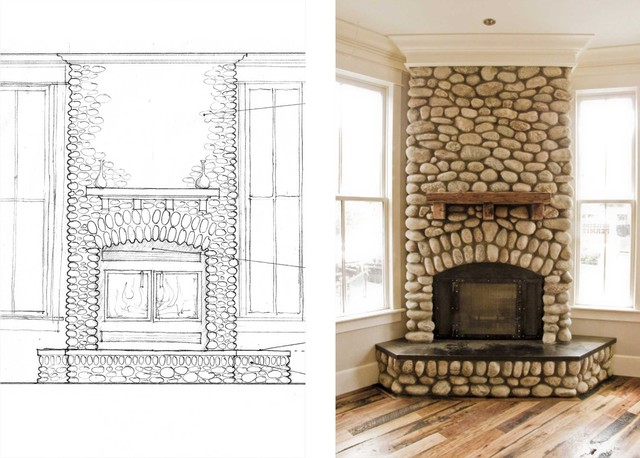 traditional family room by Kenny Craft,  CNU  LEED AP