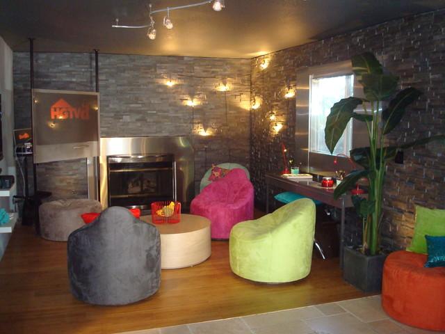 Hgtv D Coffee Bar W Host Sabrina Soto Contemporary Family Room Los Angeles Houzz Au