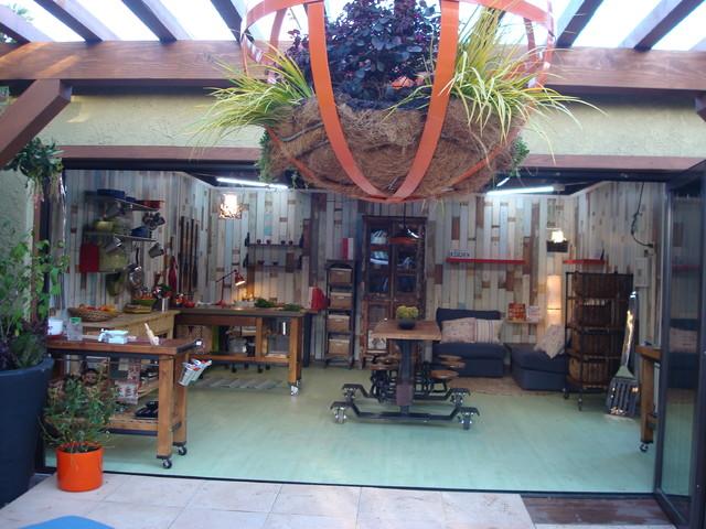 Hgtv D Indoor Outdoor Converted Garage W Jamie Durie