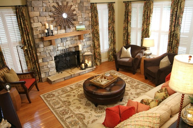 HGTV Design Wars project traditional-family-room