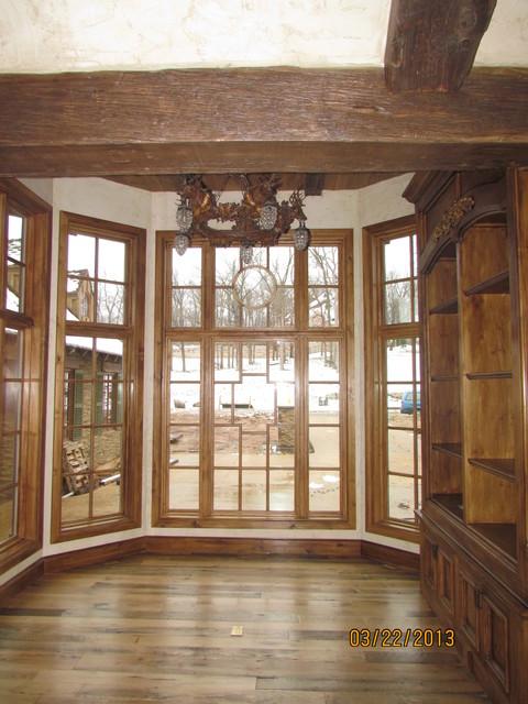 Hickory Hills Custom Home family-room