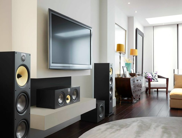 Hifi audio interior design for Living room 12x16