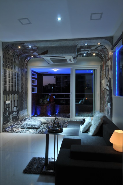 high end residential project in mumbai contemporary-family-room