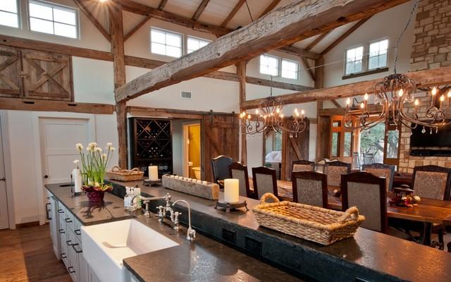 Highgrove Barn traditional-family-room