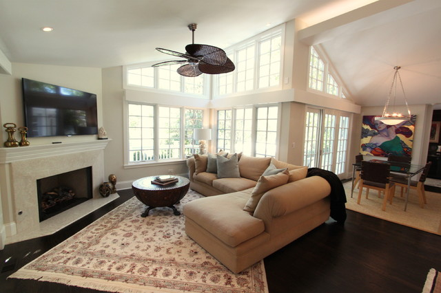 Highland Park Residence traditional-family-room