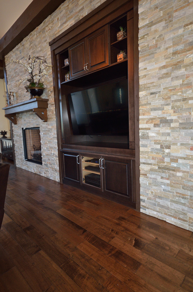 Highpoint Job, Langley BC - Rustic - Family Room ...