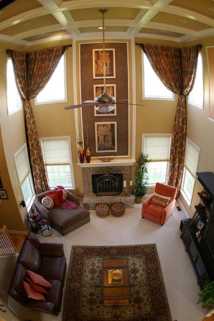 Hillsborough Residence traditional-family-room
